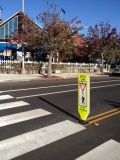 Alternatives for Pedestrian Crosswalk signs