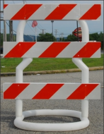 breakaway barricade Type III