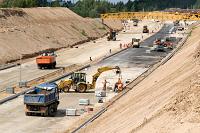 inland port road construction sm